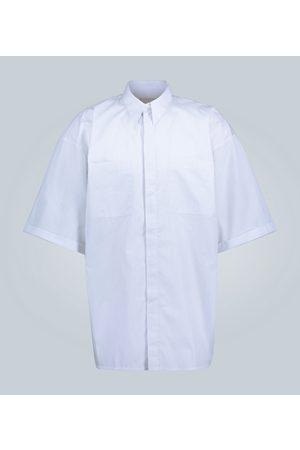 Givenchy Nadelstreifen-Kurzarmhemd
