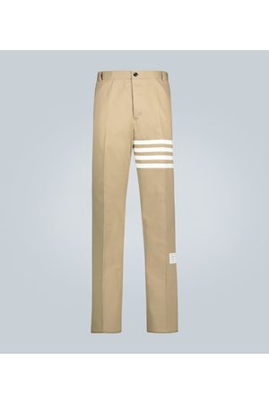 Thom Browne Relaxed-Fit Hose aus Baumwolltwill