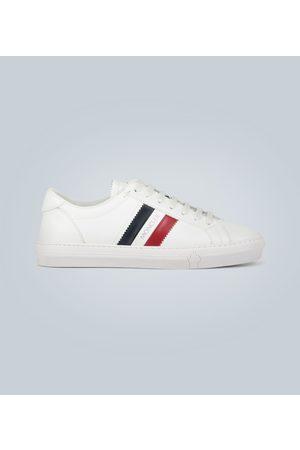 Moncler Leder-Sneakers Monaco