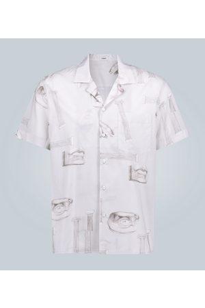 Commas Kurzarmhemd mit Reverskragen