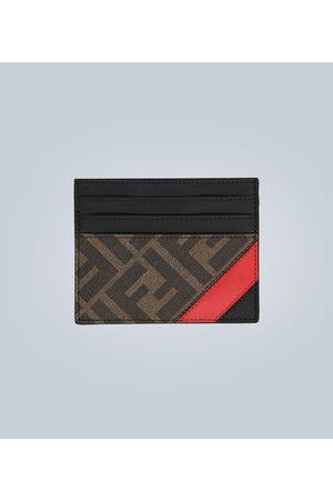 Fendi Kartenetui aus Leder mit Logo