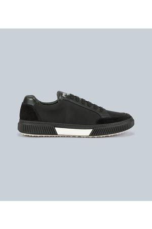 Prada Sneakers aus Mesh und Leder