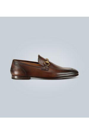 Gucci Jordaan Loafer aus Leder