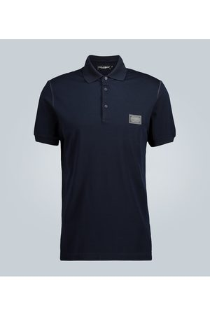 Dolce & Gabbana Poloshirt mit Blende