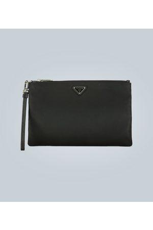 Prada Damen Koffer - Reisetasche aus Nylon mit Logo