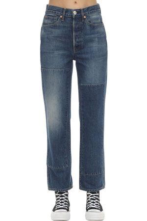 3x1 Damen Straight - Claudia Denim Straight Jeans