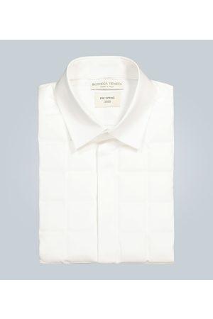 Bottega Veneta Gestepptes Hemd aus Baumwolle