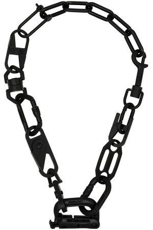 AMBUSH Black Carabiner chain necklace