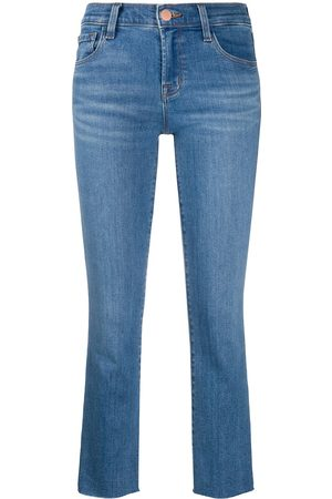J Brand Alana mid-rise cropped jeans