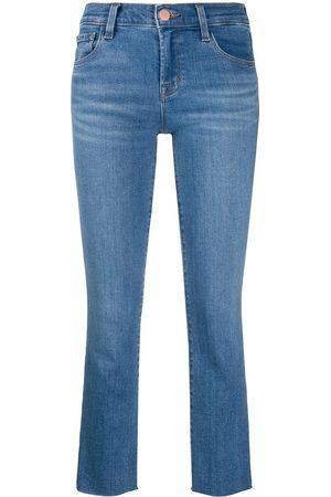 J Brand Halbhohe 'Alana' Cropped-Jeans