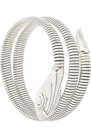 Gas Bijoux Damen Armbänder - Armreif mit Schlangen-Motiv - Metallisch