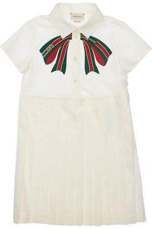 Gucci Kleid Aus Stretch-baumwollpopeline