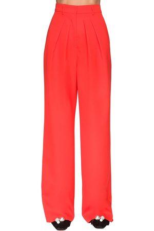 Rochas Pleated Cool Wool Pants