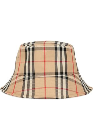 Burberry Vintage Check bucket hat - Nude