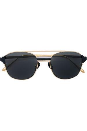 Linda Farrow Eckige 'Reed' Sonnenbrille