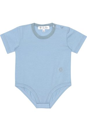 Loro Piana Baby Body aus Stretch-Baumwolle