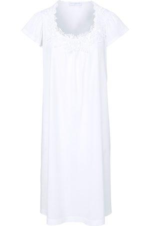 Hutschreuther Damen Nachthemden - Nachthemd 1/2-Arm weiss