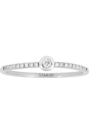 Stardiamant Ring - Brillant 585 - D6410/W