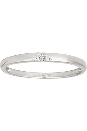 Stardiamant Ring - Brillant 585 - D6401/W