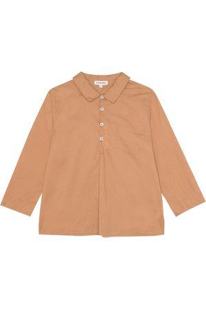 Caramel Jungen Hemden - Hemd Westminster aus Baumwolle