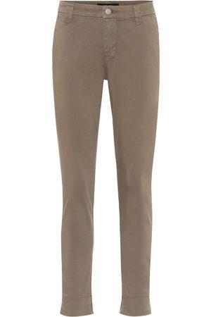 J Brand Mid-Rise Slim Jeans Paz