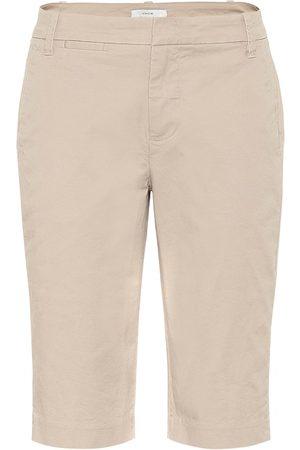 Vince Damen Shorts - Mid-Rise Shorts aus Baumwolle
