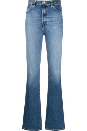 J Brand High waisted straight leg jeans