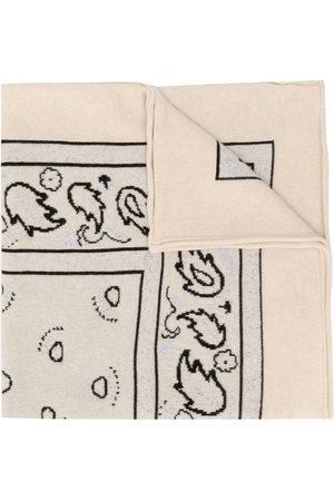 Barrie Halstuch mit Paisley-Print - Nude