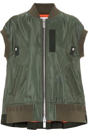 SACAI Damen Bomberjacken - Jacke aus Shell