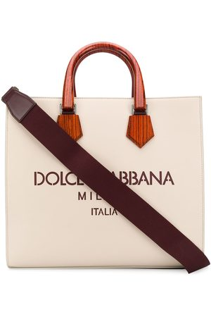 Dolce & Gabbana Edge' Shopper - Nude