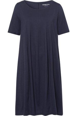 Green Cotton Damen Freizeitkleider - Jersey-Kleid
