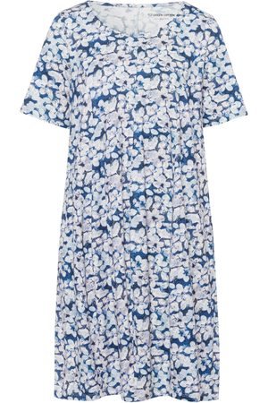 Green Cotton Damen Freizeitkleider - Jersey-Kleid Größe: 52