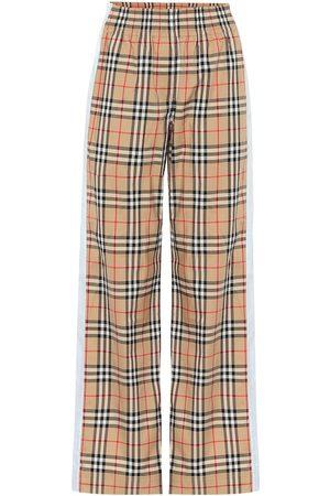 Burberry Karierte Hose Vintage Check aus Baumwolle