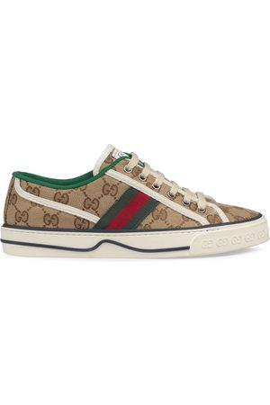 Gucci Sneakers mit GG - Nude