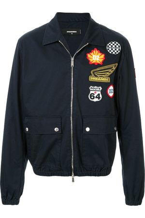Dsquared2 Bomberjacke im Patchwork-Look