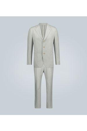 CARUSO Anzug aus Baumwolle und Seide