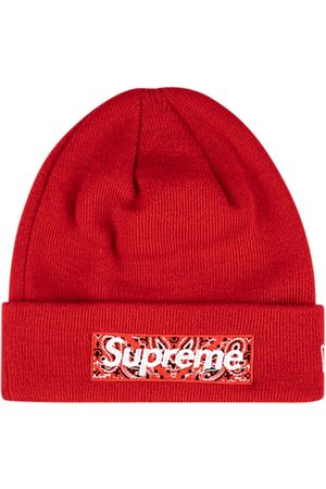 Supreme Hüte - X New Era Beanie mit Logo