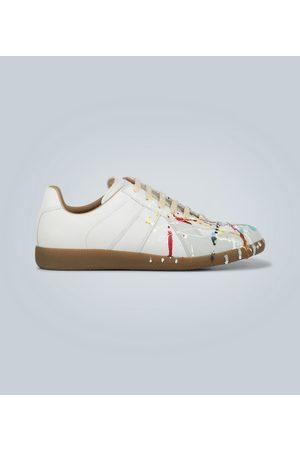 Maison Margiela Sneakers Replica Painter aus Leder