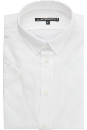 Drykorn Slim Fit Business-Hemd aus Jersey mit kurzem Arm Modell 'Fenno