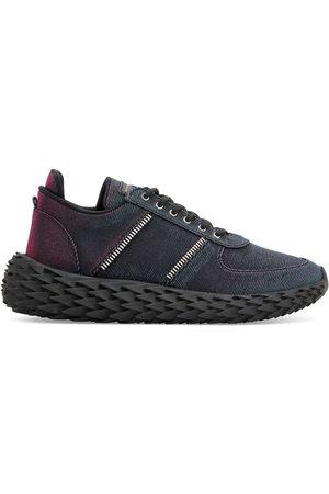 Giuseppe Zanotti Urchin metallized low-top sneakers - MULTICOLOR