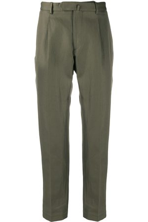DELL'OGLIO Tailored cropped trousers