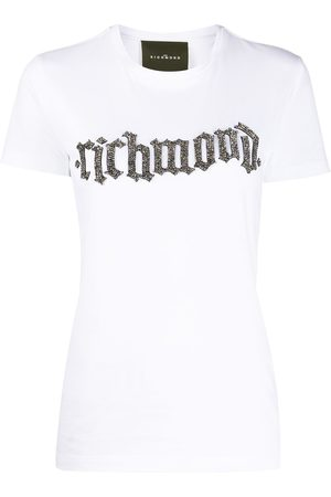 John Richmond Crew-neck logo T-shirt