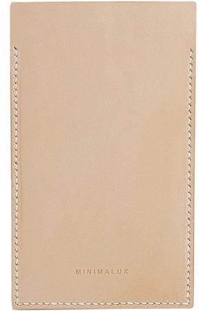 Minimalux IPhone 6 Plus logo sleeve - Nude
