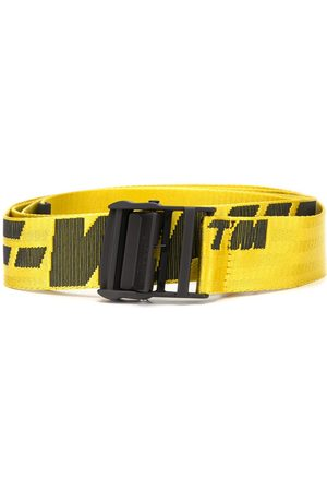 OFF-WHITE INDUSTRIAL BELT YELLOW BLACK