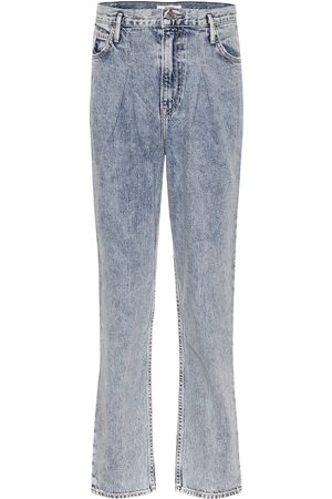 GRLFRND High-Rise Straight Jeans Teagan