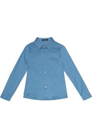 Loro Piana Hemd aus Baumwolle