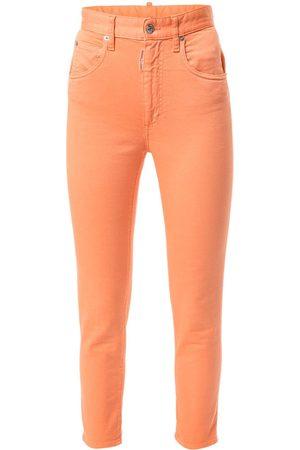 Dsquared2 Hoch geschnittene Skinny-Jeans