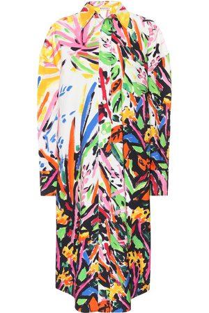 Marni Bedrucktes Kleid aus Baumwolle