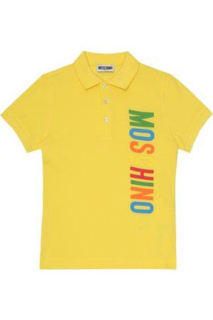 Moschino Poloshirt aus Baumwolle