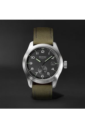 Bremont Broadsword Automatic Chronometer 40mm Stainless Steel And Sailcloth Watch, Ref. No. Hmaf